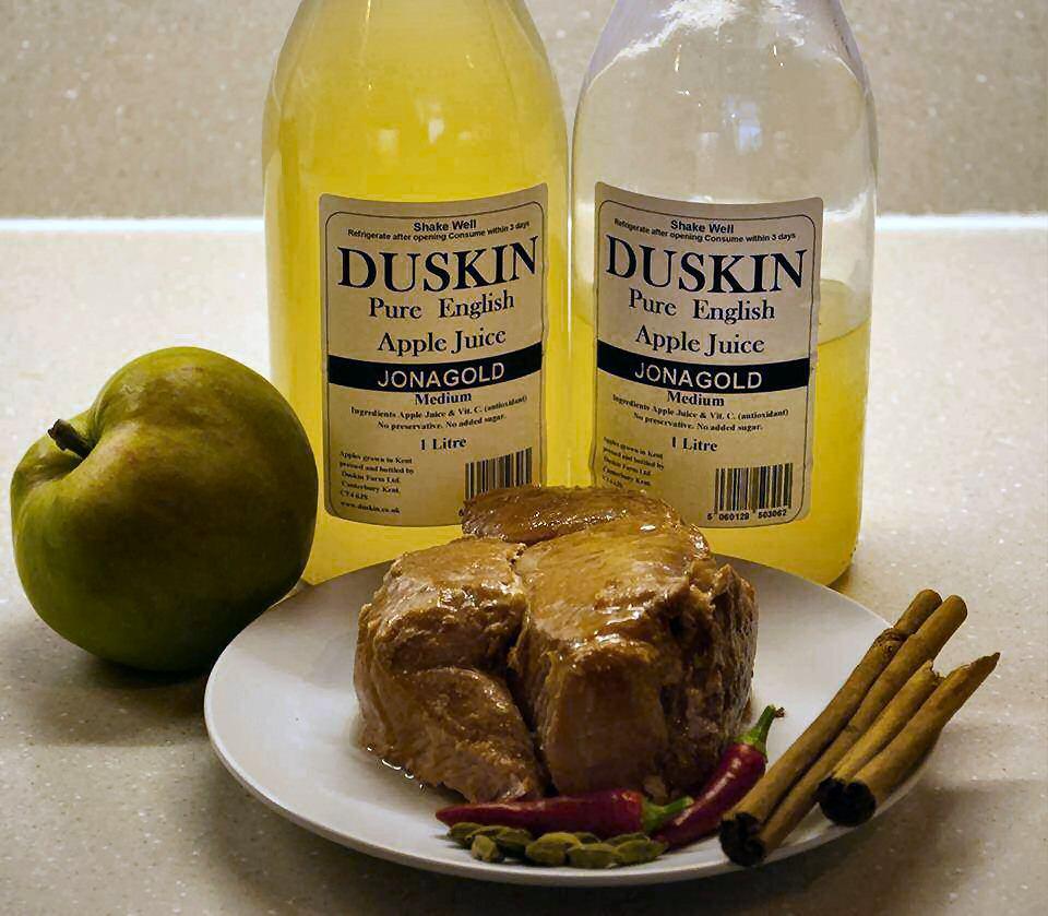 Slow-Cooked Gammon in Duskin Apple Juice