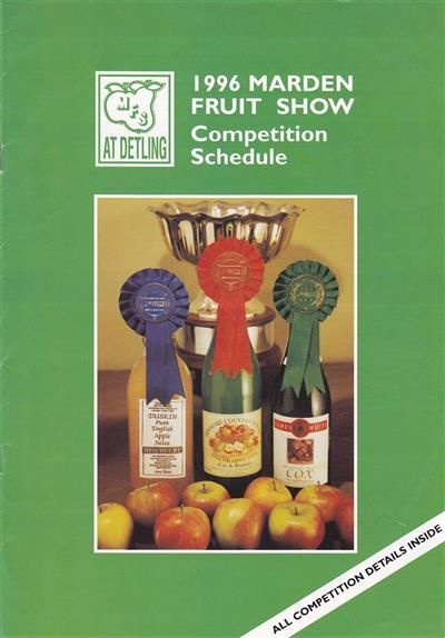 1996 Marden schedule