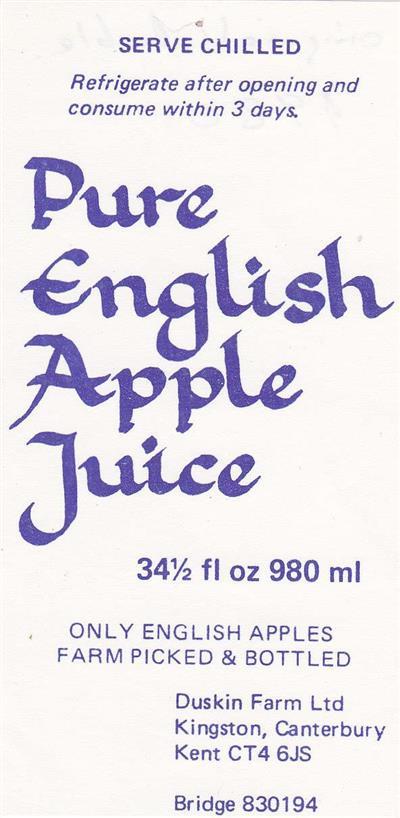 1980 Original Label