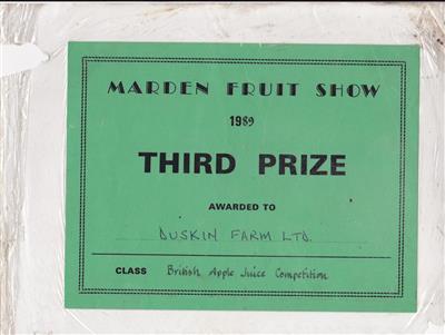 1989 Marden 3rd