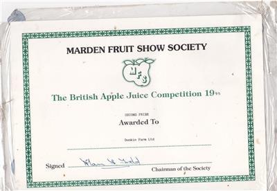 1995 Marden 2nd